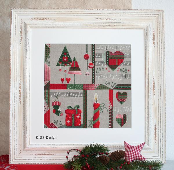 **〔UB Design〕 図案 UB-884 Christmastime