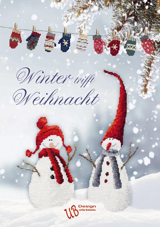 *〔UB Design〕 図案集 B2020-1 Winter trifft Weihnacht <10月中旬入荷予定>