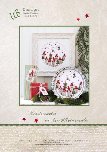 *〔UB Design〕 図案 UB-E-1024W Weihnacht in der Kleinstadt【限定販売】