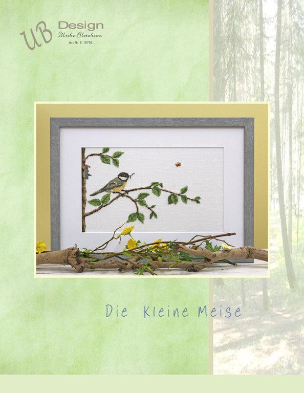**〔UB Design〕 図案 UB-E-1070S Die kleine Meise