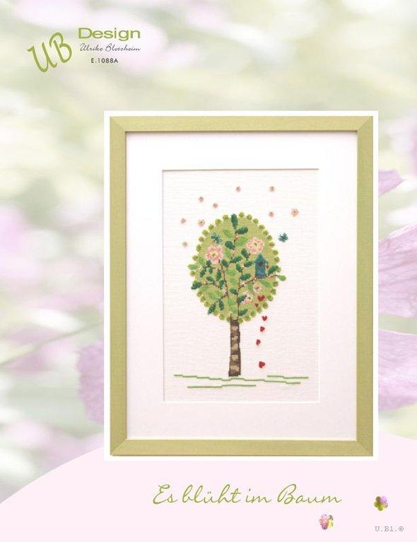**〔UB Design〕 図案 UB-E-1088A Es bluht im Baum