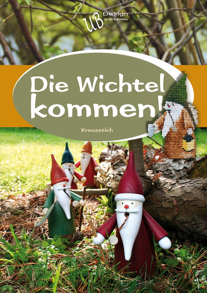 〔UB Design〕 図案集 L2011-1 Die Wichtel Kommen