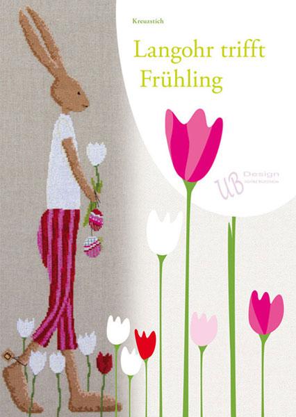 〔UB Design〕 図案集 L2013-1 Langohr trifft Fruhling