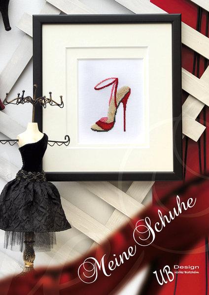 〔UB Design〕 図案集 L2013-3 Meine Schuhe