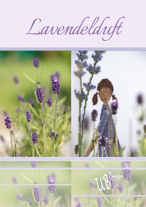 〔UB Design〕 図案集 L2018-1 Lavendelduft