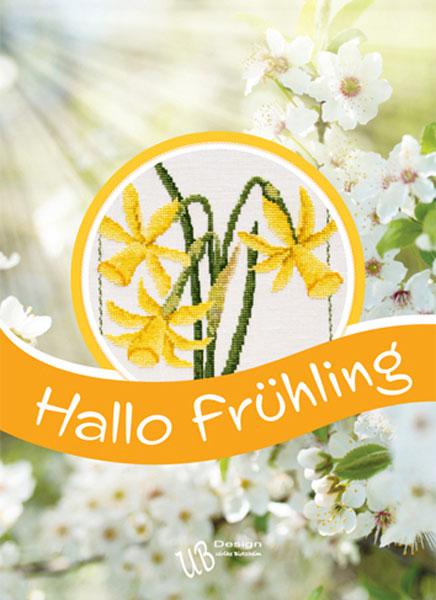 *〔UB Design〕 図案集 L2020-1 Hallo Fruhling <Happy Point 5倍>