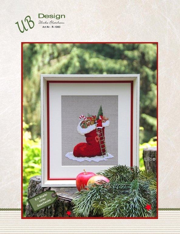 **〔UB Design〕 図案 UB-R-1063 Ein Stiefel voller Geschenke