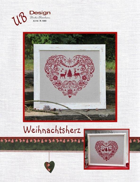 **〔UB Design〕 図案 UB-R-1065 Weihnachtsherz