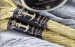 〔Anchor〕 刺繍糸 シルバー No.50-5301