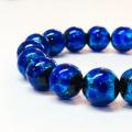 ホタルガラス(ブルー) 12mmブレスレット