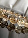 一点物 【高品質】 ゴールドルチルクォーツ 12mm 17cm