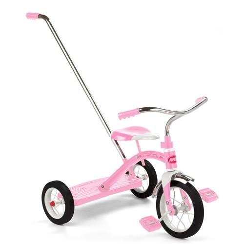 """ラジオフライヤー #34TP Classic Pink Tricycle(10"""""""")Push Bar"""