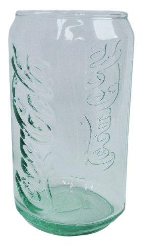 コカ・コーラ 缶型グラス コークグリーン 12.5oz Made in U.S.A. Coca-Cola CAN GLASS