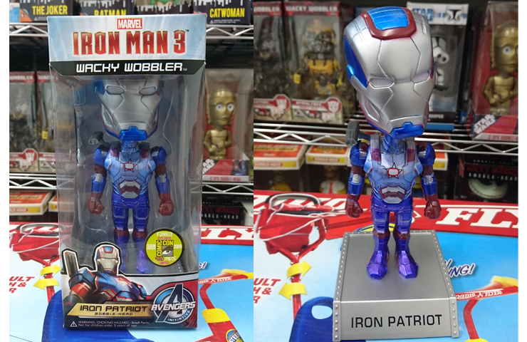 FUNKO IRON MAN 3 IRON MAN PATRIOT WACKY WOBBLER アイアンマン