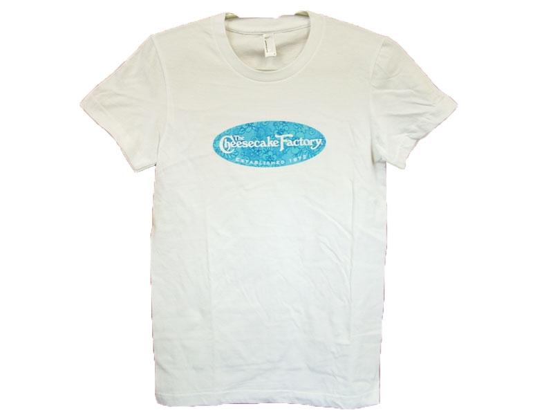 The cheesecake factoryT-SHIRT LOGO COLOR:BLUE SIZE:S(YOUTH)