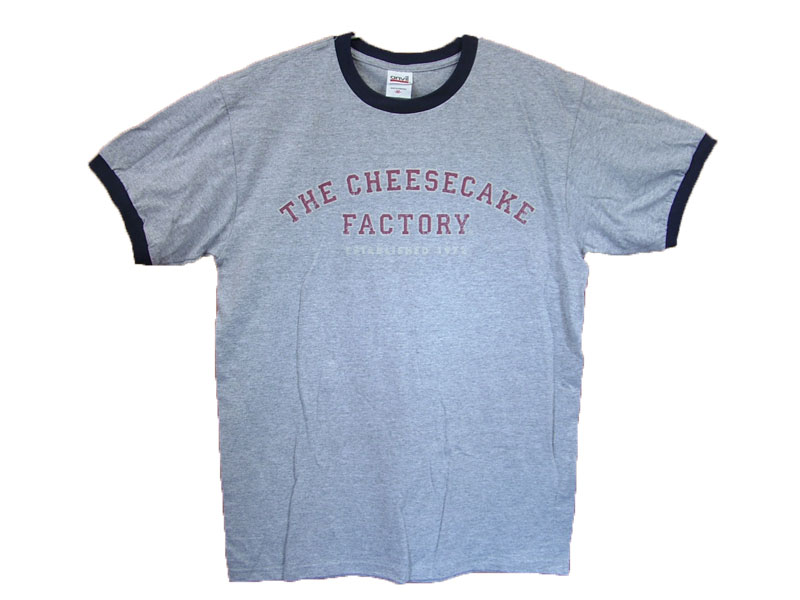 The cheesecake factoryT-SHIRT LOGO COLOR:GRAY SIZE:S