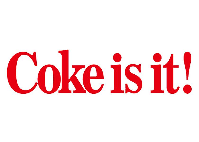Coca-Cola★CC-CDM5 RED★コカ・コーラ カッティングステッカー★ 295mm