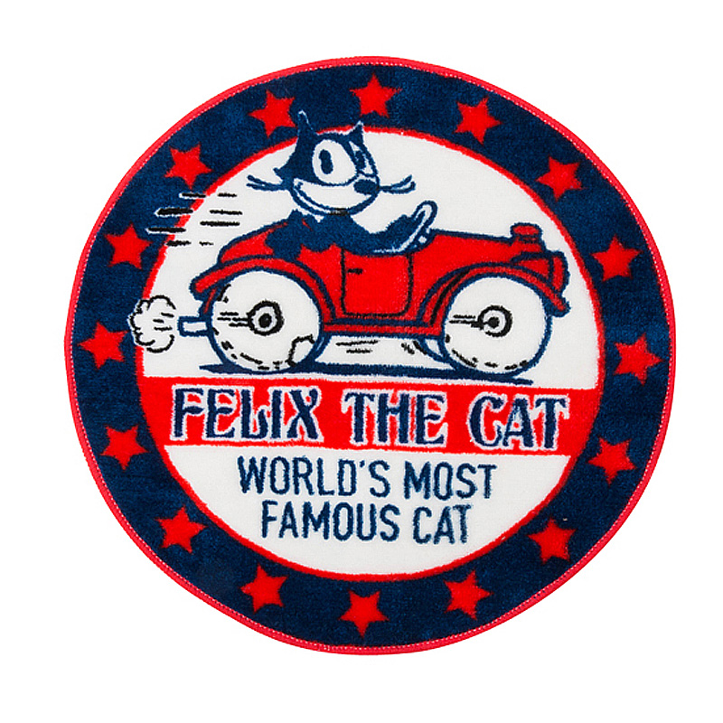 FELIX フロアーマット Round Car