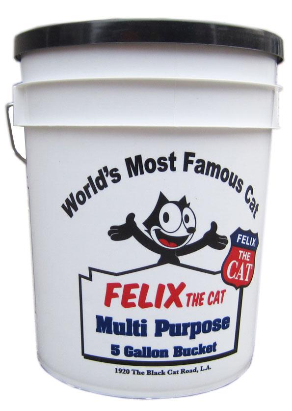 U.S.A. ARGEE社製の5 GALLON BUCKETS『FELIX The Cat』蓋付き5ガロンバケツ!