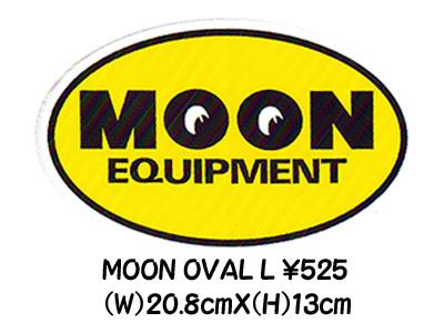 MOONEYES Oval L Sticker