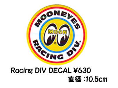 MOONEYES Racing DIV Sticker