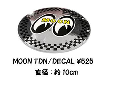 MOONEYES TDN Sticker