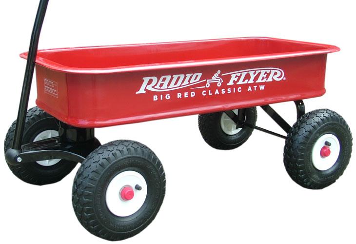 ラジオフライヤー#1800 ビッグレッドクラシックワゴン | RadioFlyer #1800 Big Red Classic ATW【201504~】