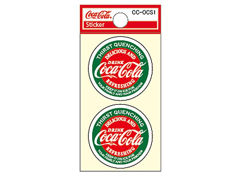 Coca-Cola★CC-OCS1★コカ・コーラ ミニステッカー★ Coca-Cola/コカ・コーラ
