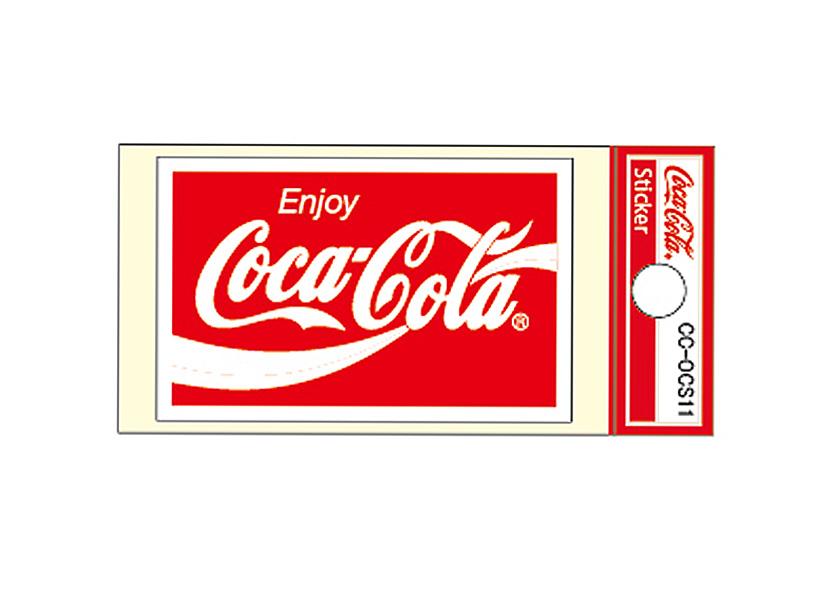 Coca-Cola★CC-OCS11★コカ・コーラ ミニステッカー★ Coca-Cola/コカ・コーラ