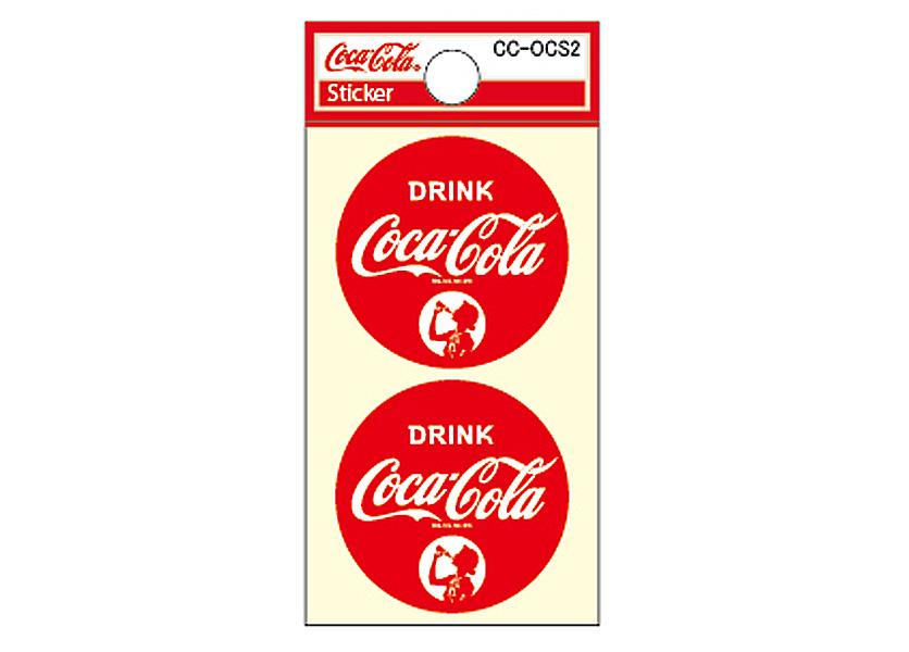 Coca-Cola★CC-OCS2★コカ・コーラ ミニステッカー★ Coca-Cola/コカ・コーラ