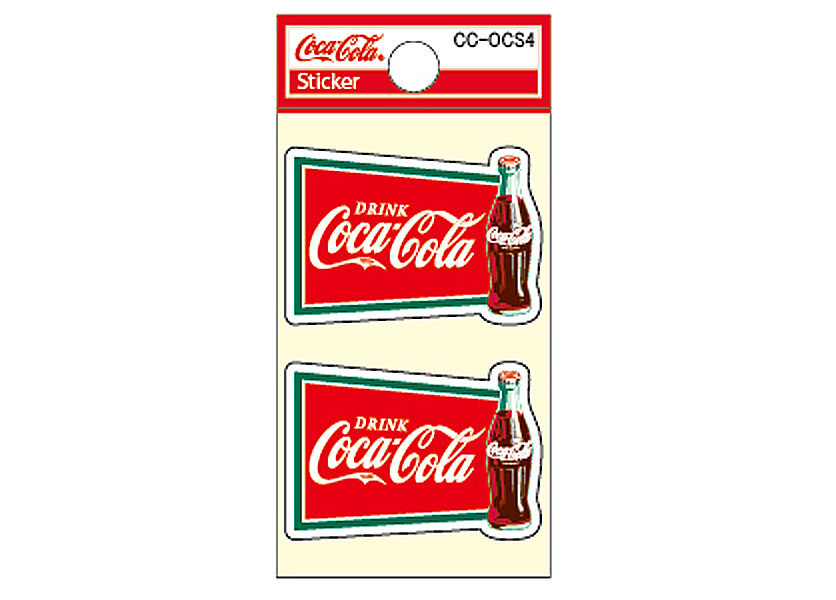 Coca-Cola★CC-OCS4★コカ・コーラ ミニステッカー★ Coca-Cola/コカ・コーラ