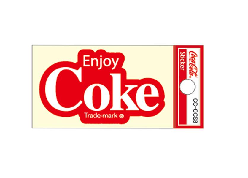 Coca-Cola★CC-OCS8★コカ・コーラ ミニステッカー★ Coca-Cola/コカ・コーラ