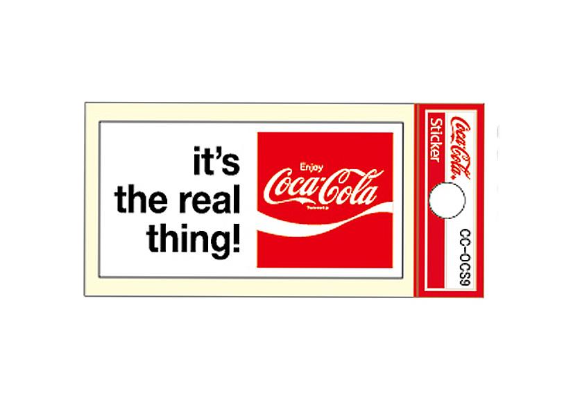 Coca-Cola★CC-OCS9★コカ・コーラ ミニステッカー★ Coca-Cola/コカ・コーラ