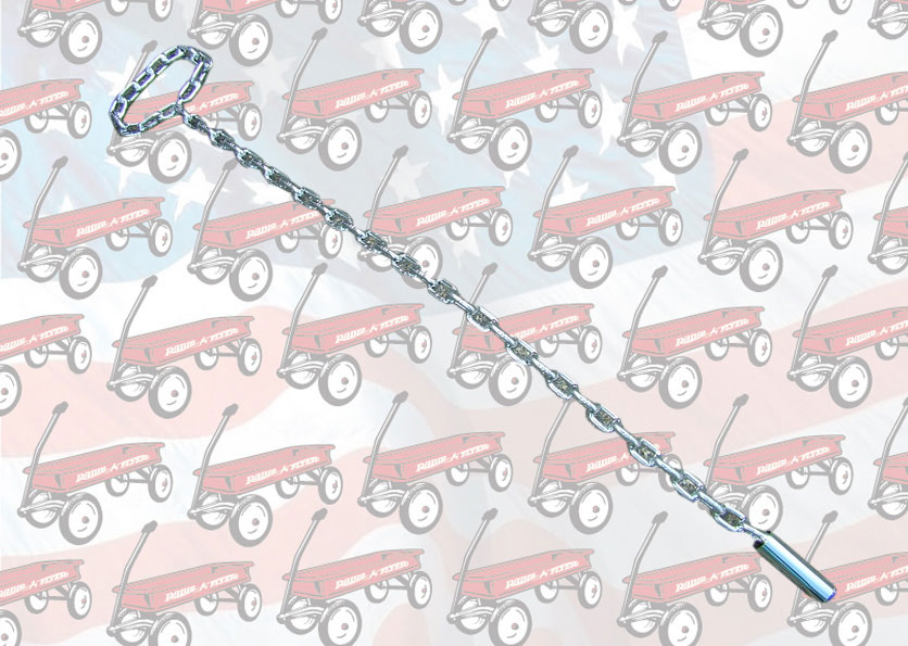 Chrom Chain Handle