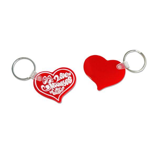 """ムーンアイズ ハート キーリング    MOONEYES """"Heart"""" Key Ring"""