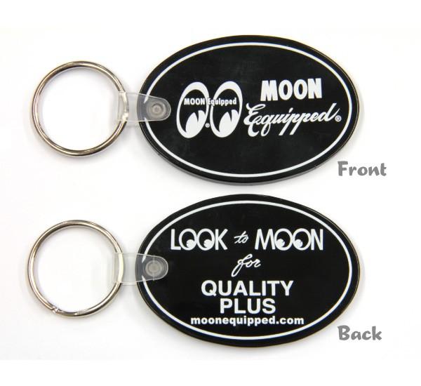 ムーンイクイップド オーバル ラバー キーリング    MOON Equipped Oval Rubber Key Ring