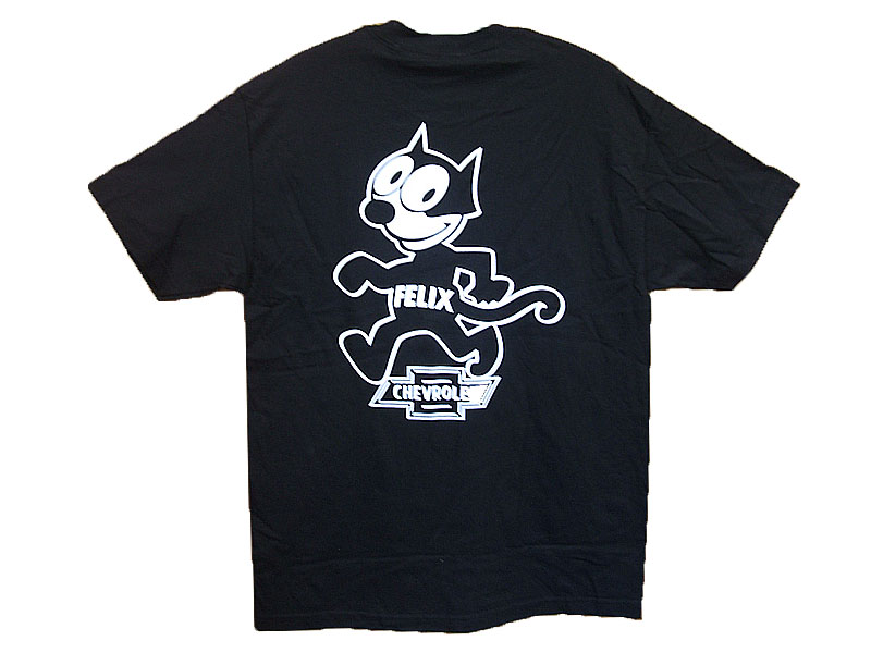 FELIXxCHEVROLET T-SHIRT COLOR:BLACK SIZE:L