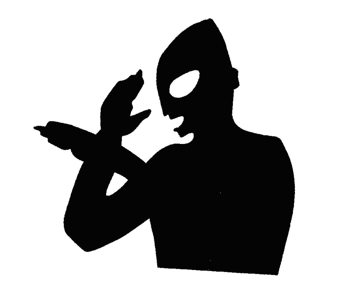 ライセンス取得済み★ウルトラマンシリーズ☆カッティングステッカー★ウルトラマン BK