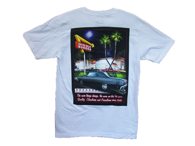 IN-N-OUT CALIFORNIA T-SHIRT COLOR:WHITE01 SIZE:S