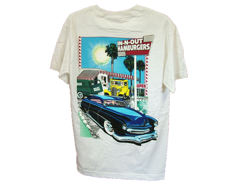 IN-N-OUT CALIFORNIA T-SHIRT COLOR:WHITE02 SIZE:S