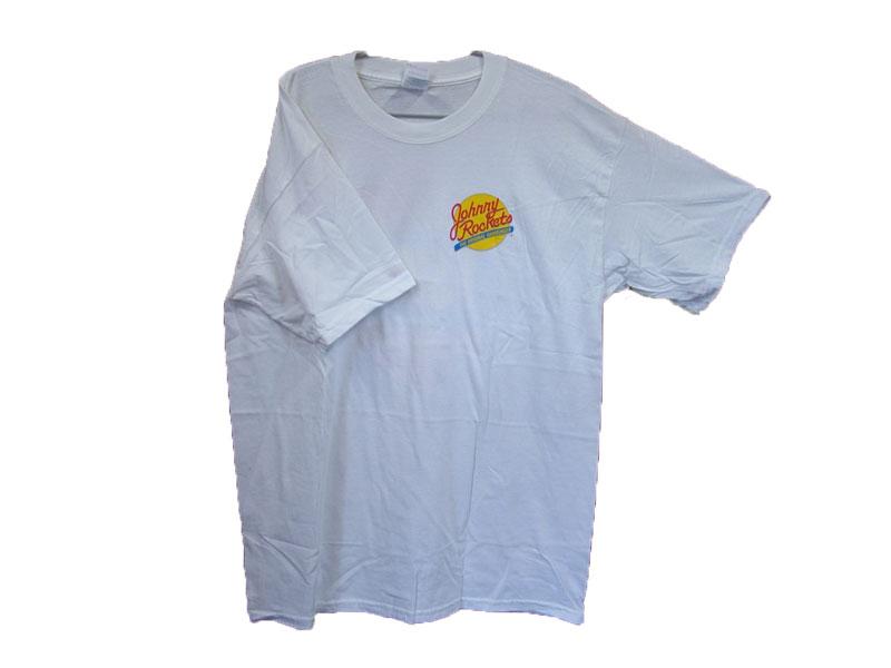Johnny Rockets T-SHIRT COLOR:WHITE SIZE:L