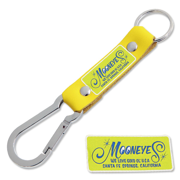 ムーン カラビナ キーリングイエロー | MOON Carabiner Key Ring YEL