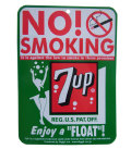 7UP SINGLE PRINT SIGN BOARD NO SMOKING