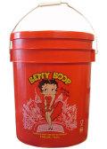 U.S.A. ARGEE社製の5 GALLON BUCKETS『BETTY BOOP』蓋付き5ガロンバケツ!