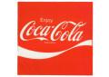 Coca-Cola★CC-BA16★コカ・コーラ ステッカー★スクエア Coca-Cola/コカ・コーラ