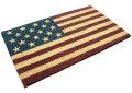 『大量入荷』アメリカ国旗柄のCoCo Mat♪☆ココヤシ繊維の玄関マット USA FLAG