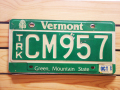 Used License Plate★VERMONT/ヴァ—モント★CM 957