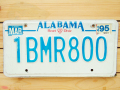 Used License Plate★ALABAMA/アラバマ★1BMR800