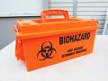 U.S.AMMO BOX BIOHAZARD☆プラスティック アーモボックス(弾薬箱)バイオハザード
