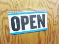 【アメリカから直輸入】OPEN/CLOSED SIGN B★オープンクローズサインプレート B(プラ)